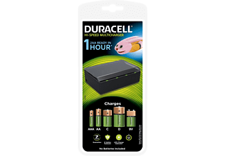 DURACELL Caricabatterie Caricabatterie (Nero)