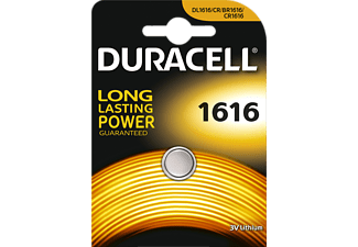 DURACELL CR1616 ELECTRONICS LITHIUM Knopfzelle (Silber)