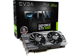 EVGA GeForce® GTX 1080 FTW Edition 8GB (08G-P4-6286-KR) (NVIDIA, Grafikkarte)