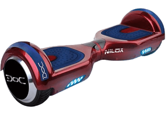 NILOX Doc Hoverboard Red 6.5