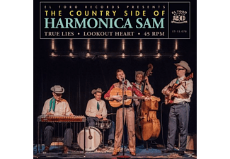 The Country Side Of Harmonica Sam - True Lies/Lookout Heart - (Vinyl)