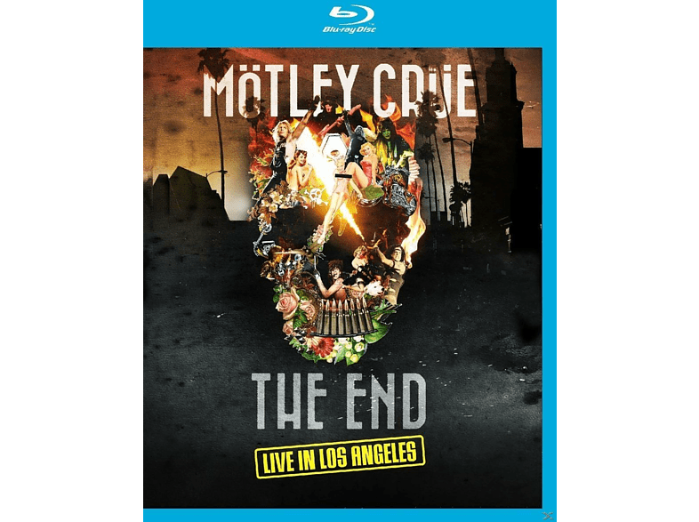 Mötley Crüe - The End-Live In Los Angeles [Blu-ray]