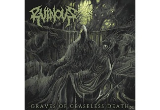 Ruinous - CEASELESS GRAVES OF DEATH (+DOWNLOAD) - (Vinyl)