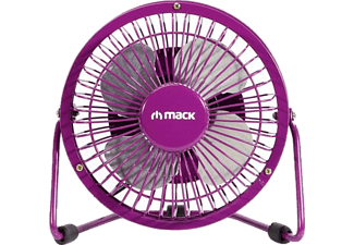 MACK MCF-14 PR Masaüstü Metal USB Fan Mor