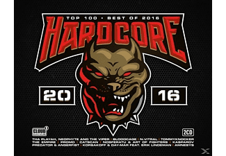 VARIOUS - Hardcore Top 100-Best Of 2016 - (CD)