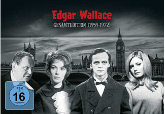 Edgar Wallace Gesamtedition (1959-1972) - (DVD)