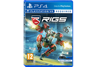 RIGS Mechanized Combat League VR NL/FR PS4