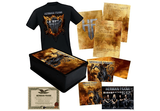 Herman Frank - The Devil Rides Out (Ltd.Boxset+Shirt Gr.L) - (CD + Merchandising)