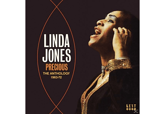Linda Jones - Precious-The Anthology 1963-72 - (CD)