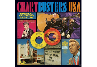 VARIOUS - Chartbusters USA-Special Country Edition - (CD)