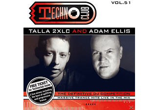 VARIOUS - Techno Club Vol.51 - (CD)