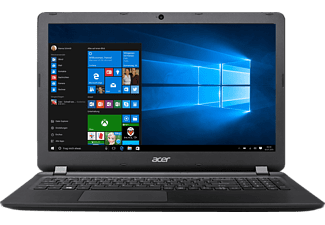 ACER Aspire ES 15 (ES1-533-P6NL), Notebook mit 15.6 Zoll Display, Pentium® Prozessor, 8 GB RAM, 256 GB SSD, Intel® HD Graphics 505, Schwarz