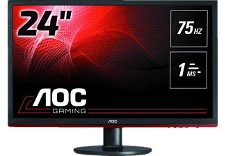 AOC G2460VQ6 24 Zoll Full-HD Monitor (1 ms Reaktionszeit, FreeSync, 75 Hz)