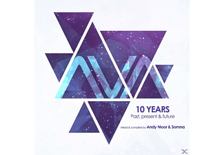 Andy/somna Moor - AVA 10 Years: Past,Present & Future - (CD)