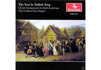 Mary Ellen Callahan+ Goldene Keyt Singers - The Year In Yiddish Song - (CD)