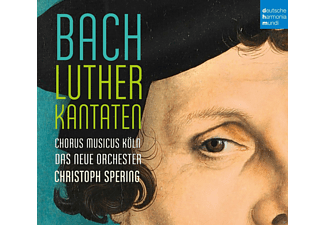 Christoph Spering - Lutherkantaten - (CD)