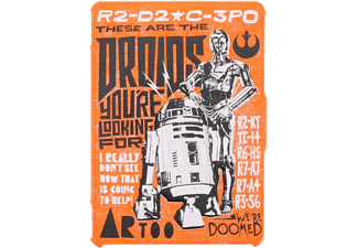 DISNEY Book cover Portfolio Star Wars Droids iPad Air 1 & 2 (157609)