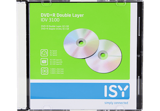 ISY DVD+R Double Layer 5er Spindel IDV-3100