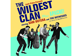 Sam Butera, Die Witness - The Wildest Clan+Apache! - (CD)