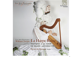 Xavier de Maistre, William Christie, Les Arts Florissants - La Harpe Reine - (CD)