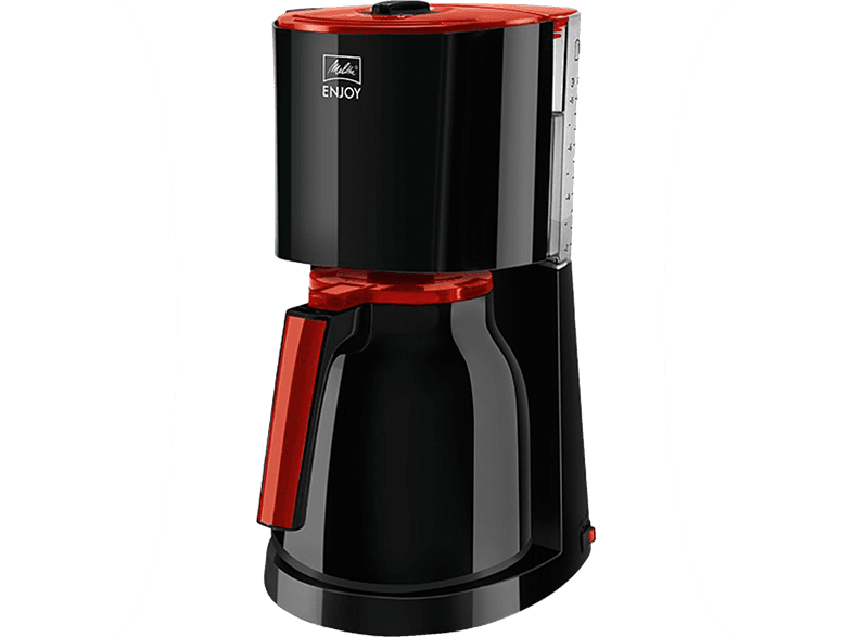 MELITTA 1017-10 Enjoy Therm Kaffeemaschine Schwarz/Rot