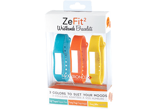 MYKRONOZ Bracelet ZeFit2 Colorama x3 (KRZF2PACK3-COLORAMA)