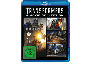 Transformers 1-4 Collection - (Blu-ray)