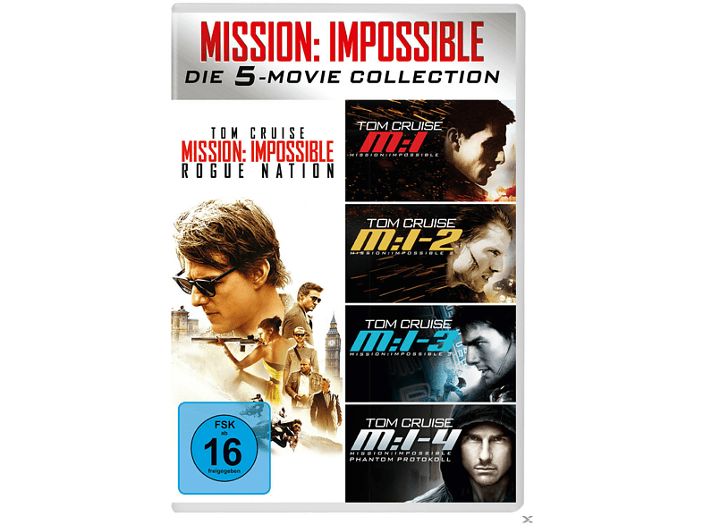 Mission: Impossible 5-Movie Set [DVD]