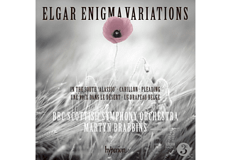 "Bbc Scottish Symphony Orchestra, Martyn Brabbins - Enigma Variationen op.36/In the South ""Alassio"" - (CD)"