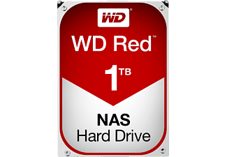WESTERN DIGITAL RED 1TB 46MB/C 5400 - Festplatte (1 TB, Rot)