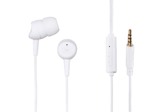 HAMA In-Ear Headset Basic White - (137436)