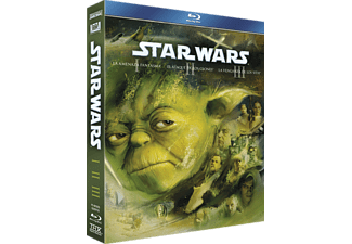 Pack Star Wars - Episodios I al III - Blu-Ray