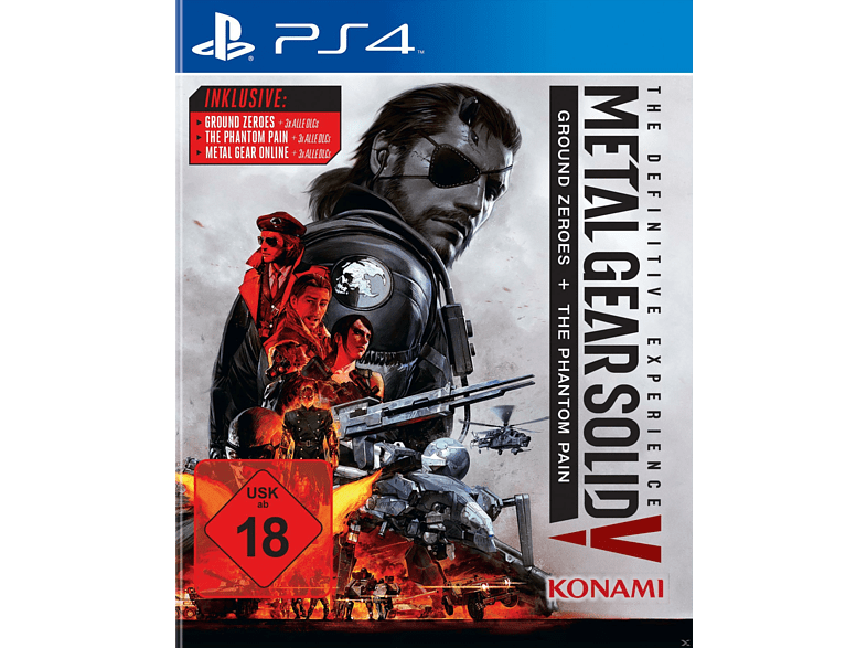 Metal Gear Solid 5 - The Definitive Edition [PlayStation 4]