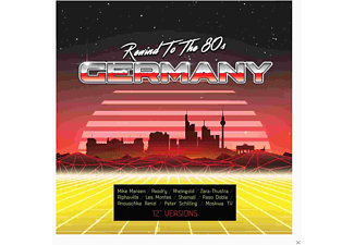 VARIOUS - Rewind To The 80s-Germany - (CD)