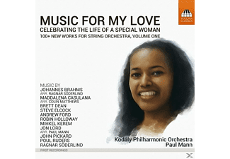 Paul/kodaly Philharmonic Orchestra Mann - Music for my Love Vol.1 - (CD)