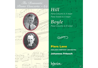 Adelaide Symphony Orchestra, Lane Piers - Romantic Piano Concerto Vol.69 - (CD)