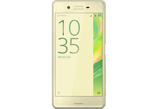 SONY Xperia™ X Performance, Smartphone, 32 GB, 5 Zoll, Lime-Gold