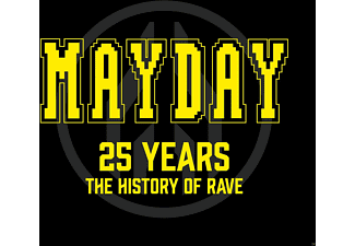 VARIOUS - Mayday-25 Years-The History Of Rave - (CD)