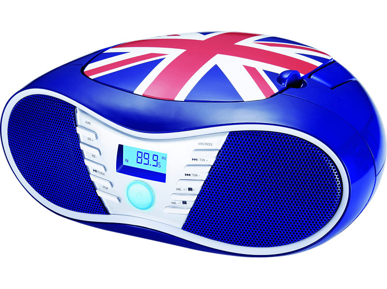 BIGBEN CD58 Radiorecorder (Union Jack)