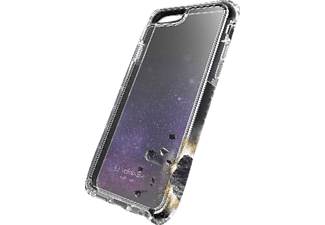 CELLULAR LINE Tetra Force iPhone 7, iPhone 8 Handyhülle, Schwarz/Transparent