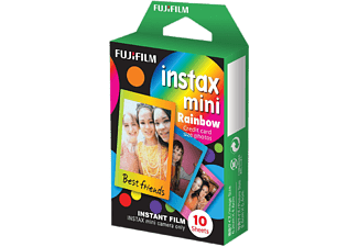 FUJIFILM Instax mini film Rainbow 10 pack