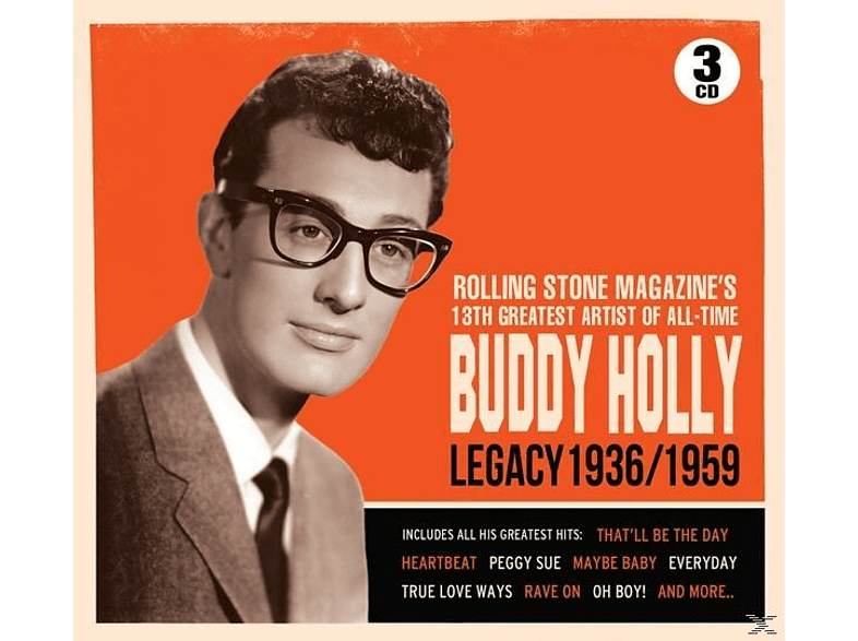 Buddy Holly - Legacy 1936/59 [CD]