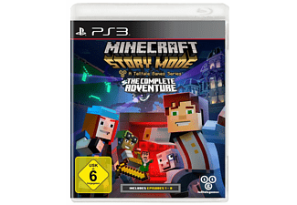 Minecraft Story Mode The Complete Adventure PlayStation Spiele - Minecraft ps3 spiele