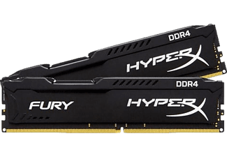 KINGSTON HyperX Fury Black 16GB (2x8GB) 2666MHz DDR4 Ram Bellek (HX426C15FBK2/16)