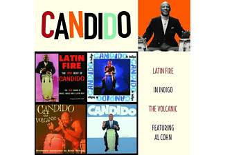 Candido - Latin Fire/In Indigo/The Volcanic (CD)