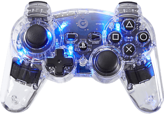 BIGBEN PS3 RF-Backlight Controller Blau, Controller, Transparent/Blau