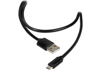 VIVANCO Micro USB-kabel 1.2 m - Svart