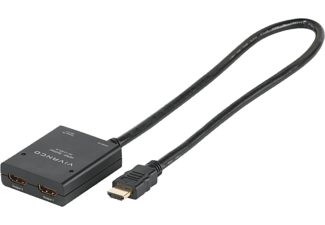 VIVANCO HDMI-splitter, 1 till 2