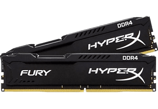 KINGSTON HyperX Fury Black 8GB (2x4GB) 2400MHz DDR4 Ram Bellek (HX424C15FBK2/8)