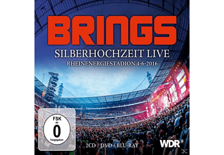 Brings - Silberhochzeit Live (Box Set 2CD/DVD/Bluray) - (CD + DVD Video)